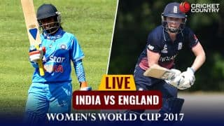 Live cricket score, IND Women vs ENG Women, 2nd match, ICC Women's World Cup 2017: IND win by 35 runs