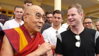 Steven Smith and co. meet Dalai Lama ahead of Dharamsala Test