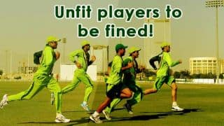 Pakistan to fine unfit cricketers