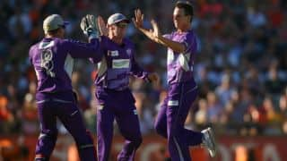 CLT20 2014 Match 16: Hobart Hurricanes look to send Barbados Tridents packing