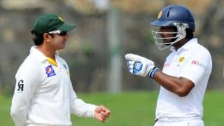 Kumar Sangakkra, Angelo Mathews lead Sri Lanka's charge against Pakistan on Day 4 of Galle Test