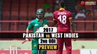 Pakistan vs West Indies 2017, 1st ODI at Guyana, Preview: Hosts eye series win, visitors aim redemption