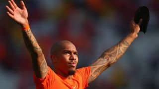 Nigel de Jong to miss rest of FIFA World Cup 2014 due to groin injury