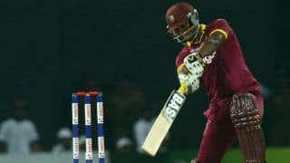 India vs West Indies Live: Johnson Charles scores 3rd T20I half-century in T20 World Cup 2016 semi-final