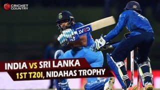 Highlights, India vs Sri Lanka, Nidahas Trophy, 1st T20I at Colombo: Sri Lanka win by 5 wickets