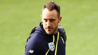 CSA accepts dismissal of Faf du Plessis's appeal by ICC