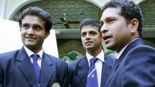 Sachin Tendulkar's game rates Sourav Ganguly ahead of Rahul Dravid
