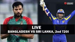 Live Cricket Score, Bangladesh vs Sri Lanka, 2nd T20I: BAN win by 45 runs