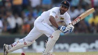Sanga, Silva lead Sri Lanka's fightback; 99/1 at Stumps