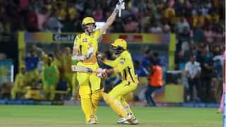 IPL 2019, RR vs CSK: Chennai wins a thriller by 4 wickets