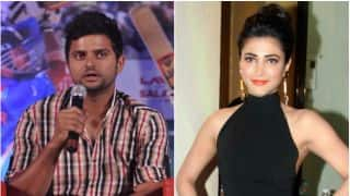 Suresh Raina, Shruti Haasan in steady relationship: Report