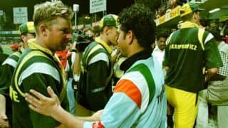The first of the two Sachin Tendulkar desert storms