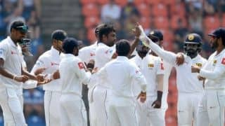 2nd Test, Lunch: Sri Lanka spinners trouble England