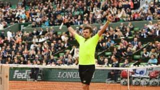 Stan Wawrinka beats Lukas Rosol at French Open 2016