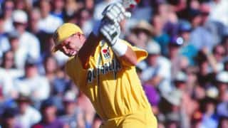 VIDEO: Dean Jones's 145 blows England away at Brisbane