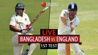 Live Cricket Score, Bangladesh vs England, 1st Test at Chittagong: Stumps