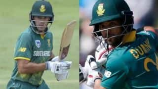 4th ODI: South Africa elect to bowl, Markram, Duminy return