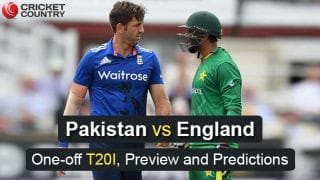 PAK vs ENG, One-off T20I, Preview and Predictions