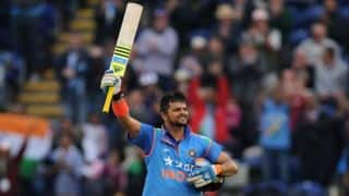 Suresh Raina's whirlwind century propels India to a formidable 304/6 against England in 2nd ODI at Cardiff