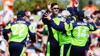 ICC Cricket World Cup 2015: Buoyant Ireland take on underdogs UAE
