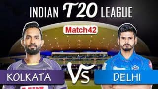 KKR vs DC Live Cricket Score, IPL 2020 Today Match: Capitals Target All-Round Show And Playoffs Berth