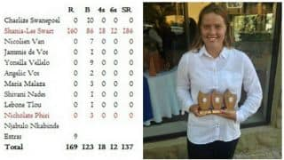 Shania-Lee Swart: I was very hungry after scoring 160