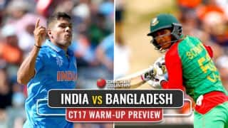 ICC Champions Trophy 2017, warm-up preview: India, Bangladesh look to practice hard ahead of main draw