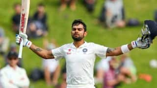 Virat Kohli scores 50th century; India set Sri Lanka 231