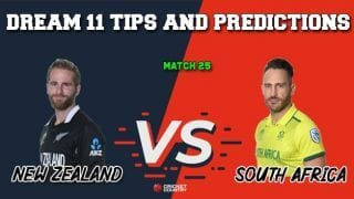 NZ vs SA Dream11 Prediction: Best Playing XI Players to Pick for Today's Match between New Zealand and South Africa at 3 PM