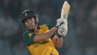 Farhan Bahardin: Batsmen have to be clever in shot selection in Cape Town T20I
