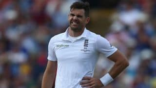 James Anderson in danger of missing rest of Ashes 2015