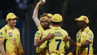 Tahir completes 50 IPL wickets during CSK vs KXIP tie