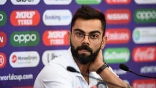 Cricket World Cup: Late appearance an advantage for India - Virat Kohli
