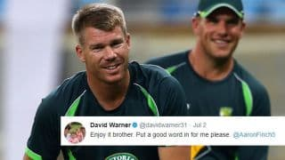 Warner, Finch take subtle dig at Cricket Australia over pay dispute