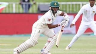 1st Test: Temba Bavuma firm, Sri Lanka grab four before lunch