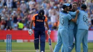 Rohit ton, Shami's five not enough as England hand India first loss