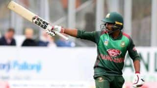 Mosaddek's record-breaking fifty leads Bangladesh to historic tri-series triumph
