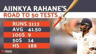 Ajinkya Rahane's 50th Test: Five innings that underscore his steel