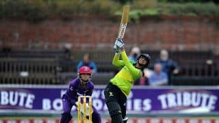 Smriti Mandhana hits joint fastest fifty in women T20s