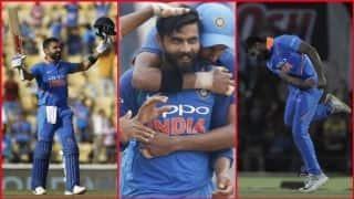 कोहली का 40वां वनडे शतक, जडेजा का थ्रो, विजय शंकर का आखिरी ओवर बना यादगार