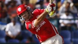 Rajasthan Royals (RR) vs Kings XI Punjab (KXIP) Live Scorecard IPL 2014: Match 7 of IPL 7 at Sharjah