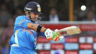 when gautam Gambhir slammed his first ODI century