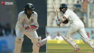 Live Cricket Score, Irani Cup 2016-17, GUJ vs ROI, Day 5: Saha gets to 150; Pujara century