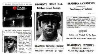 Don Bradman Firsts Part 5:  His first Test hundred
