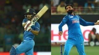 India vs West Indies 2018, 4th ODI, Toss report: Kedar Jadhav, Ravindra Jadeja in as India bat