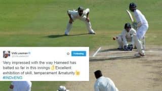 Cricket fraternity hails Haseeb Hameed's gritty batsmanship against India