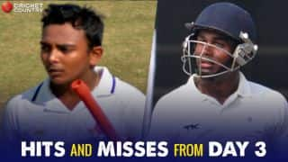 Ranji Trophy 2017-18, quarter-finals, Day 3: Veterans edge out youth