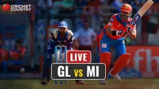 LIVE IPL 2017 Score, GL vs MI, IPL 10, Match 35: MI continue to strike