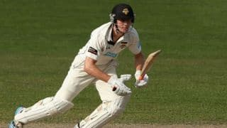 Cameron Bancroft becomes 8th Australian to carry his bat three times in first-class cricket
