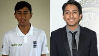 Haseeb Hameed and Tony Revolori